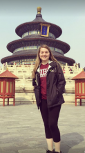 At the Temple of Heaven in Beijing, China during my study abroad trip!